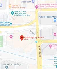 The Hyatt Regency Map