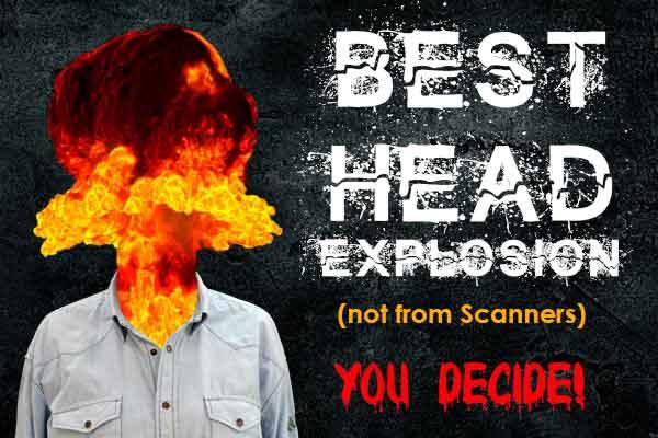 Horror Exploding Head Sweet 16 Image