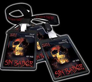 Sin Badge
